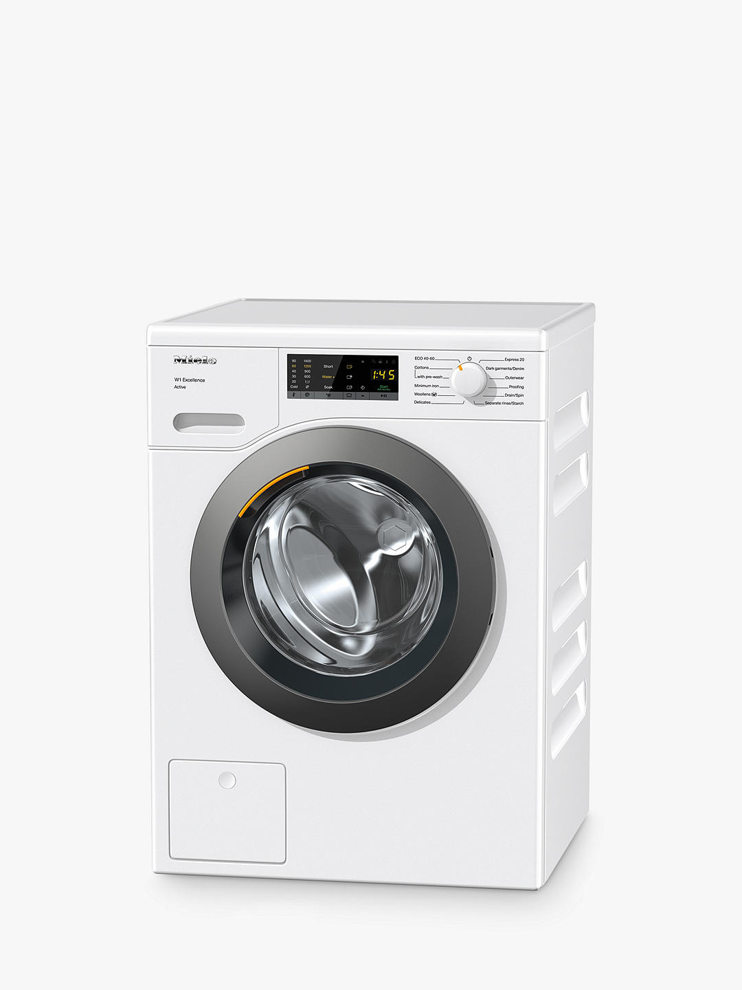Buy Miele WEA025 Freestanding Washing Machine, 7kg Load, 1400rpm Spin, White Online at johnlewis.com