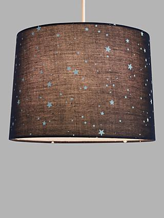 little home at John Lewis Stardust Tapered Lampshade