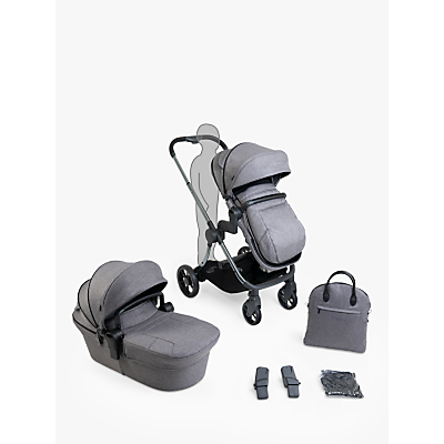 iCandy Lime Lifestyle Pushchair Bundle, Phantom Charcoal