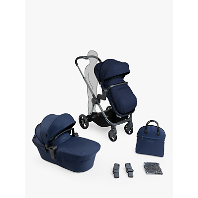 iCandy Lime Lifestyle Pushchair Bundle, Phantom Navy