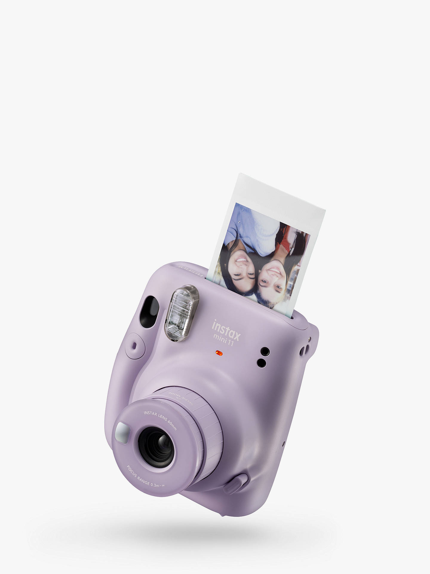 Buy Fujifilm Instax Mini 11 Instant Camera with Built-In Flash & Hand Strap, Lilac Purple Online at johnlewis.com