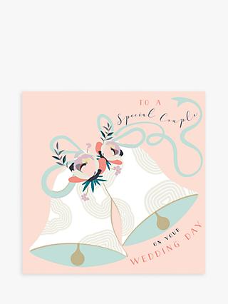 Laura Darrington Design Bells Special Couple Wedding Card