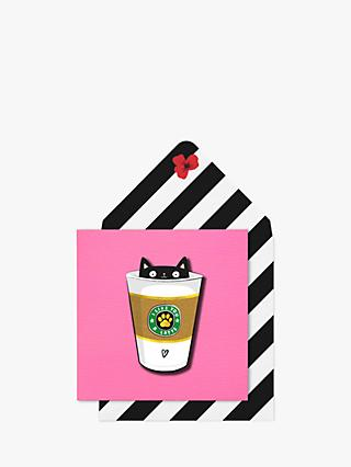 Tache Crafts Like You A Latte Blank Greeting Card