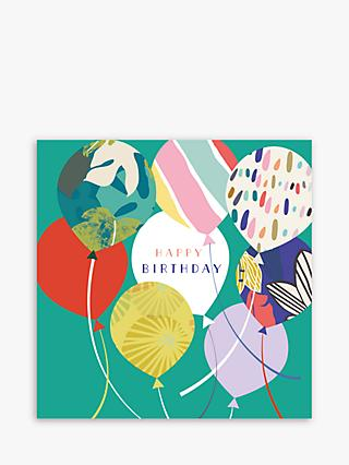 Laura Darrington Design Balloons Birthday Card