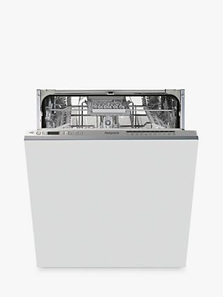 Hotpoint HIO3C22WSC Integrated Dishwasher, Silver
