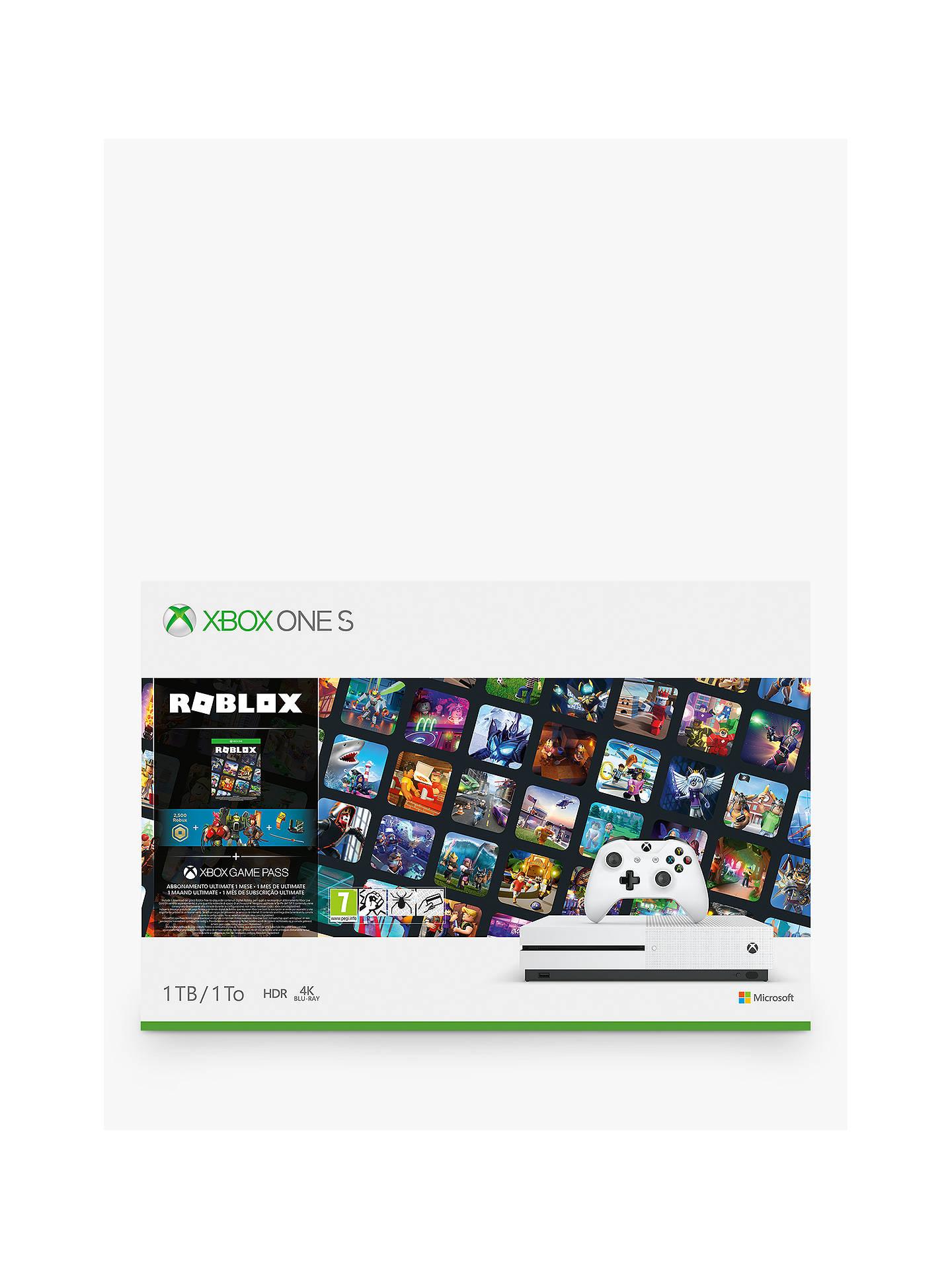 Xbox One S Roblox Bundle Code