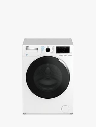 Beko WDEY854P44QW Freestanding Washer Dryer, 8kg Wash/5kg Dry Load, A Energy Rating, 1400rpm Spin, White