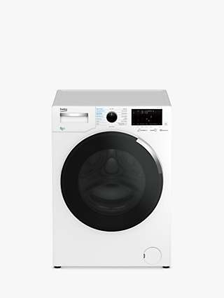 Beko WDEY854P44QW Freestanding Washer Dryer, 8kg/5kg Load, 1400rpm Spin, White