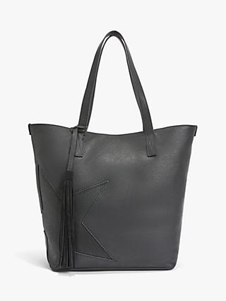 AND/OR Star Leather Tote Bag