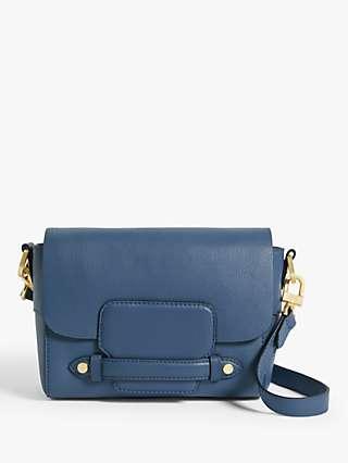 John Lewis & Partners Leather Soft Cross Body Bag