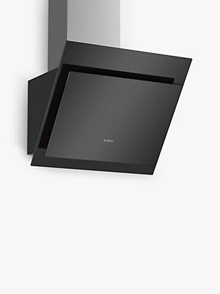 Bosch Serie 4 DWK67CM60B 60cm Wall Mounted Cooker Hood, B Energy Rating, Black