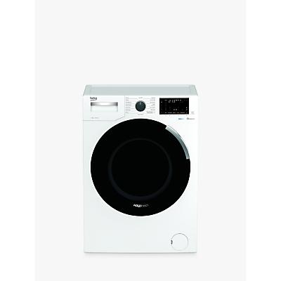 Beko AquaTech WEY94P64EW Freestanding Bluetooth Washing Machine, 9kg Load, A+++ Energy Rating, 1400rpm Spin, White