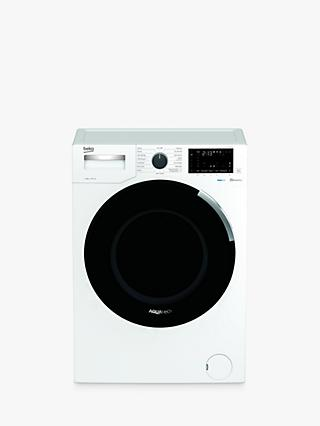 Beko AquaTech WEY94P64EW Freestanding Bluetooth Washing Machine, 9kg Load, A+++ Energy Rating, 1400rpm Spin, White