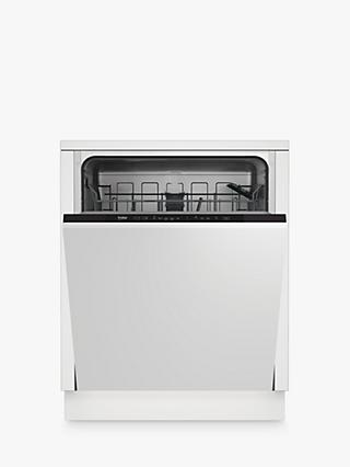 Beko DIN15320 Integrated Dishwasher, A++ Energy Rating, White