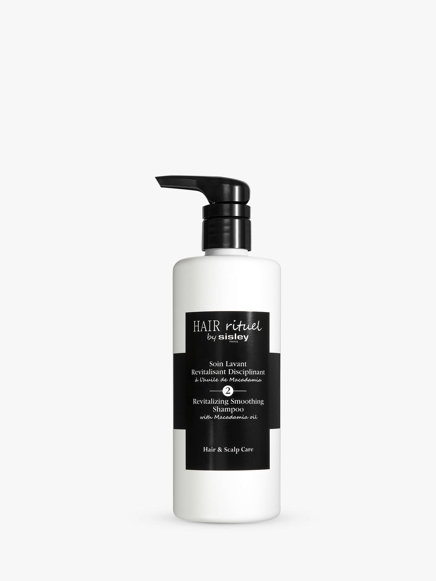 Buy Sisley Revitalising Smoothing Shampoo with Macadamia Oil, 500ml Online at johnlewis.com