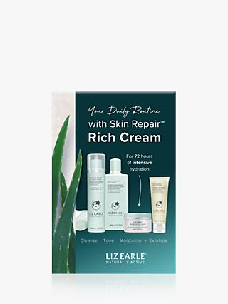 Liz Earle Essentials Skin Repair Rich Cream Skincare Gift Set