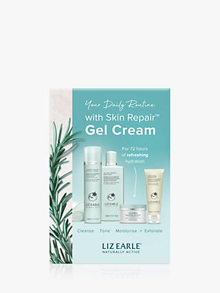 Liz Earle Essentials Skin Repair Gel Cream Skincare Gift Set