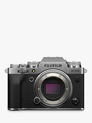 "Fujifilm X-T4 Compact System Camera, 4K Ultra HD, 26.1MP, Wi-Fi, Bluetooth, OLED EVF, 3"" LCD Touch Screen, Body Only"