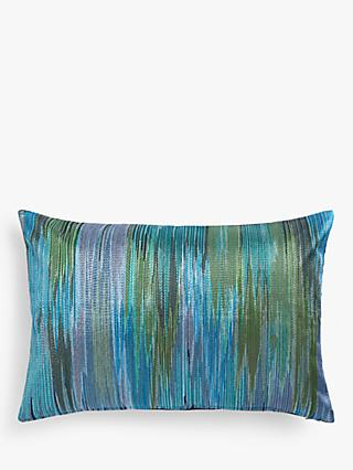 John Lewis & Partners Zia Cushion, Green