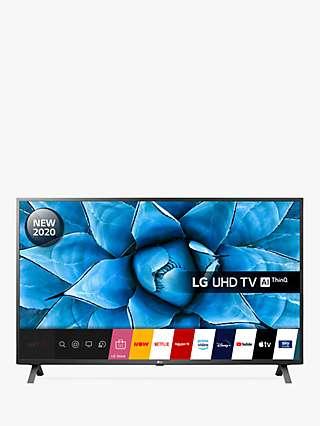 LG 55UN73006LA (2020) LED HDR 4K Ultra HD Smart TV, 55 inch with Freeview HD/Freesat HD, Ceramic Black