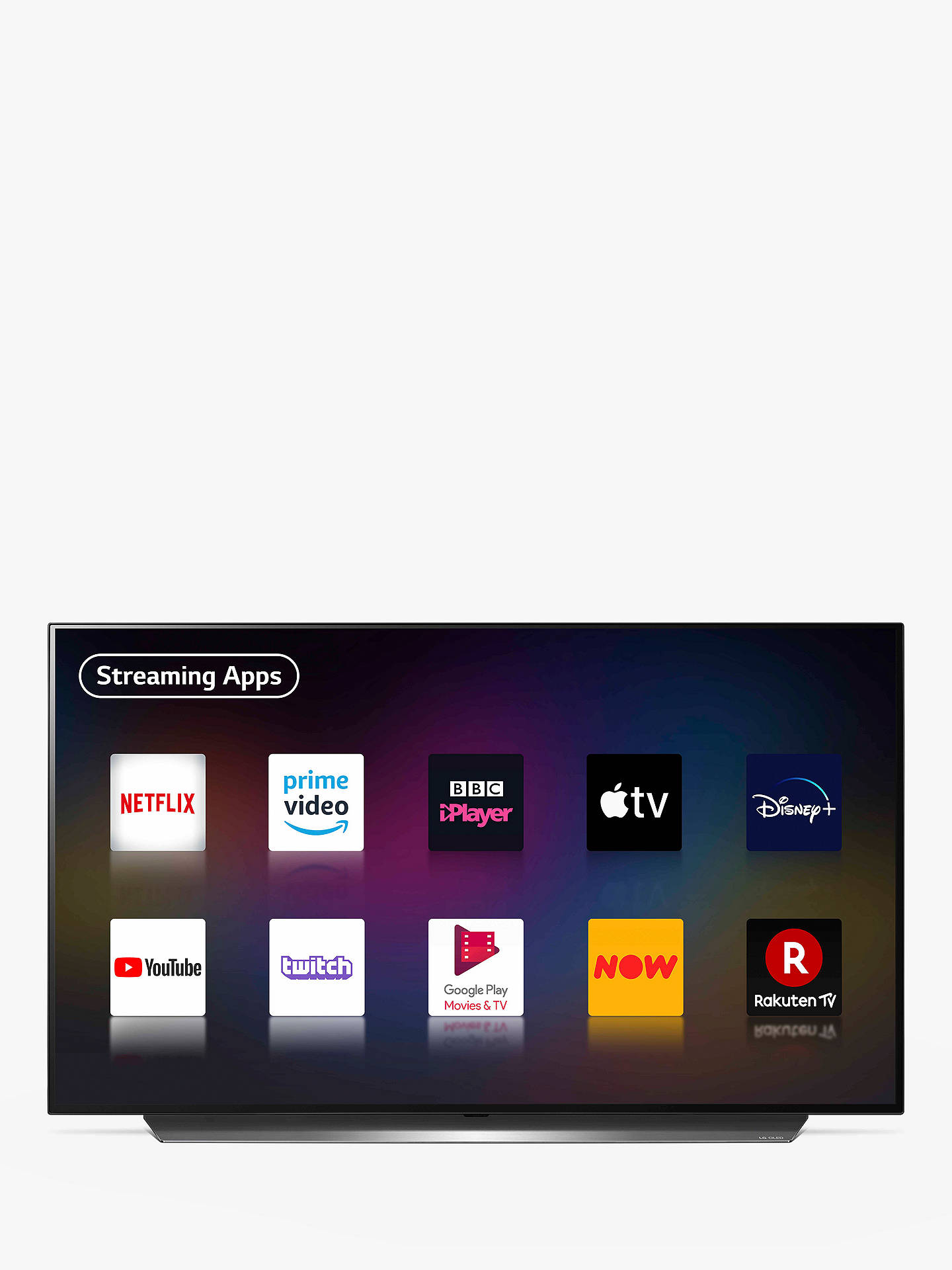 Buy LG OLED48CX5LC (2020) OLED HDR 4K Ultra HD Smart TV, 48 inch with Freeview HD/Freesat HD, Dolby Atmos Sound & Alpine Stand, Light Silver Online at johnlewis.com