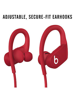 Buy Powerbeats Wireless Bluetooth In-Ear Sport Headphones with Mic/Remote, Red Online at johnlewis.com