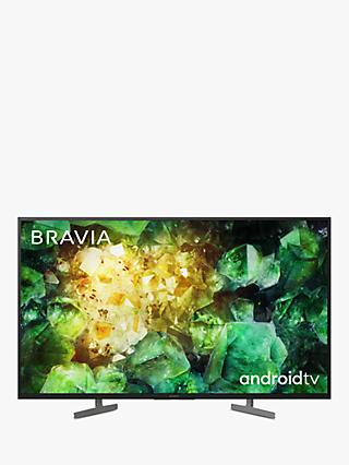 Sony Bravia KD49XH8196 (2020) LED HDR 4K Ultra HD Smart Android TV, 49 inch with Freeview HD, Youview & Dolby Atmos, Black