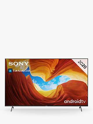 Sony Bravia KD85XH9096 (2020) LED HDR 4K Ultra HD Smart Android TV, 85 inch with Freeview HD/Freesat HD, Youview & Dolby Atmos, Black