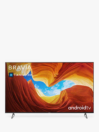 Buy Sony Bravia KD55XH9005 (2020) LED HDR 4K Ultra HD Smart Android TV, 55 inch with Freeview HD/Freesat HD, Youview & Dolby Atmos, Black Online at johnlewis.com