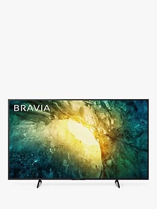 Sony Bravia KD55X7053 (2020) LED HDR 4K Ultra HD Smart TV, 55 inch with Freeview Play, Black