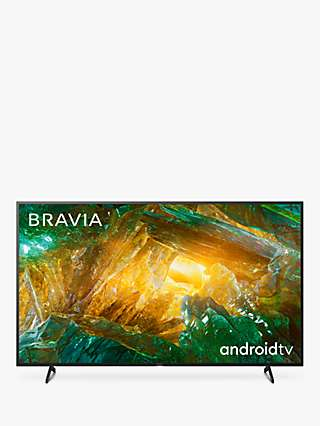 Sony Bravia KD75XH8096 (2020) LED HDR 4K Ultra HD Smart Android TV, 75 inch with Freeview HD, Youview & Dolby Atmos, Black