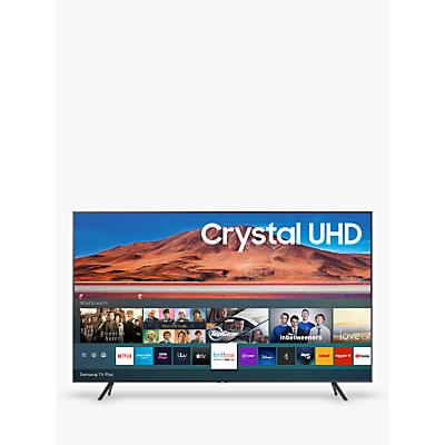 Samsung UE65TU7100 (2020) HDR 4K Ultra HD Smart TV, 65 inch with TVPlus, Silver