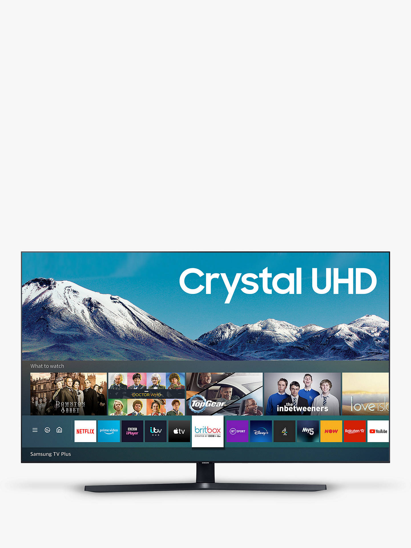 Buy Samsung UE43TU8500 (2020) HDR 4K Ultra HD Smart TV, 43 inch with TVPlus/Freesat HD, Black Online at johnlewis.com