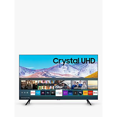 Image of Samsung UE50TU8000 (2020) HDR 4K Ultra HD Smart TV, 50 inch with TVPlus, Black