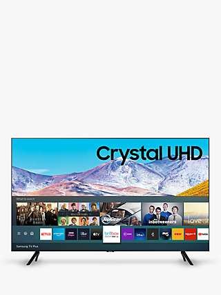 Samsung UE50TU8000 (2020) HDR 4K Ultra HD Smart TV, 50 inch with TVPlus, Black