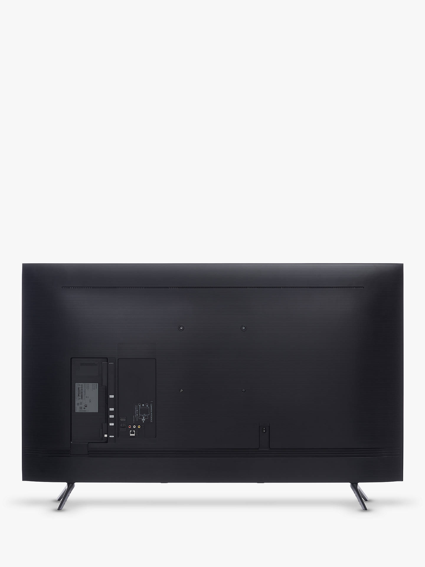 Buy Samsung UE43TU8000 (2020) HDR 4K Ultra HD Smart TV, 43 inch with TVPlus, Black Online at johnlewis.com