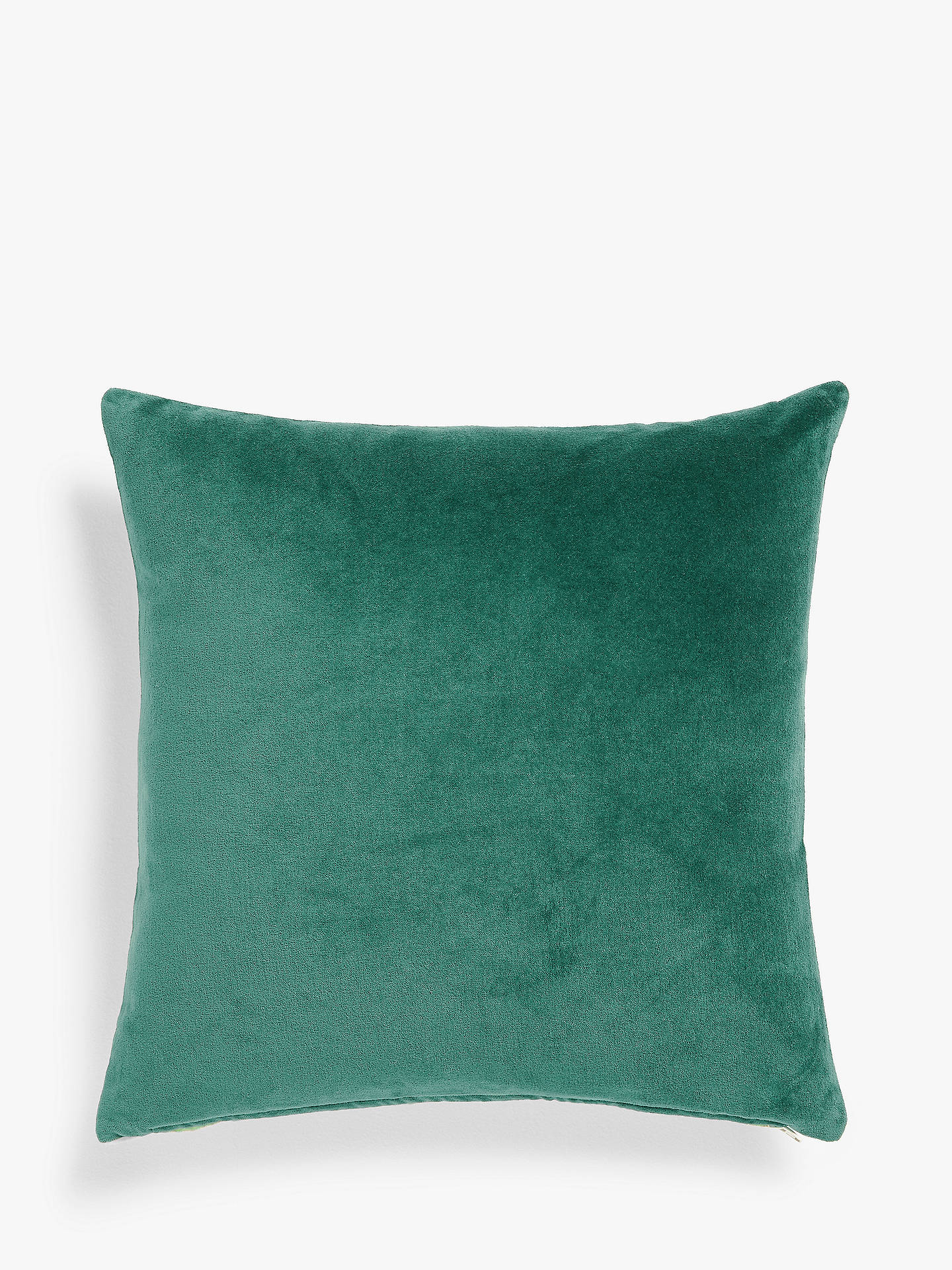 Buy John Lewis & Partners Velvet Cushion, Java Online at johnlewis.com