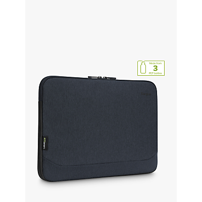 Image of Targus Cypress Sleeve with EcoSmart, for Laptops up to 12, Navy
