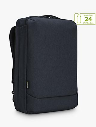 "Targus Cypress Convertible Backpack with EcoSmart for Laptops up to 15.6"", Navy"