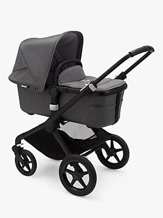 Bugaboo Fox2 Complete Pushchair and Carrycot, Grey Melange