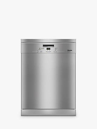 Miele G4932SC-CST Freestanding Dishwasher, A+++ Energy Rating, Clean Steel