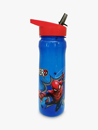 Marvel Spider-Man Hero Power Drinks Bottle, 600ml, Blue/Multi