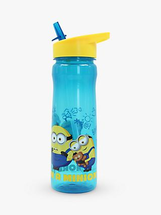 Minions Drinks Bottle, 600ml, Blue/Yellow