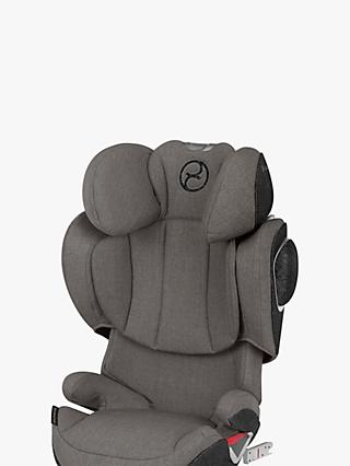 Cybex Solution Z-Fix Plus Group 2/3 Car Seat, Soho Grey