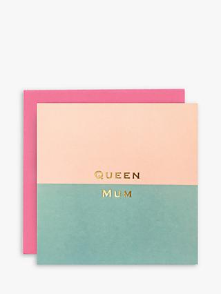 Susan O'Hanlon Queen Mum Birthday Card