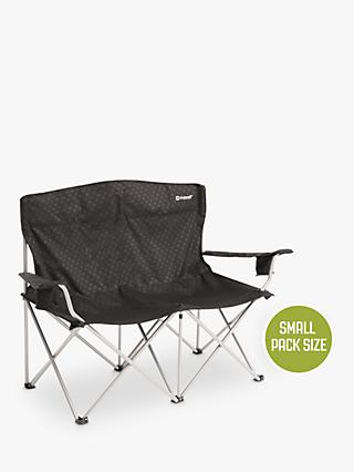 Outwell Catamarca Camping Sofa Chair, Black