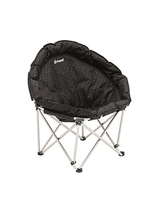 Outwell Casilda Folding Camping Chair, Black
