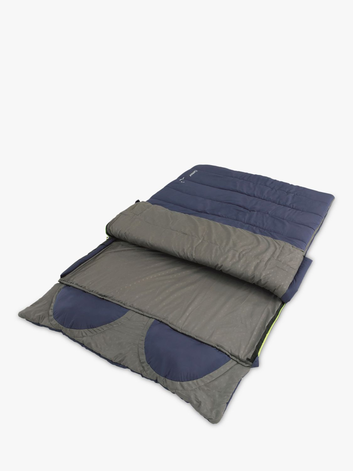 Outwell Contour Lux Double Sleeping Bag, Imperial Blue
