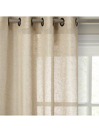 John Lewis & Partners Recycled Polyester Eyelet Sheer Panel