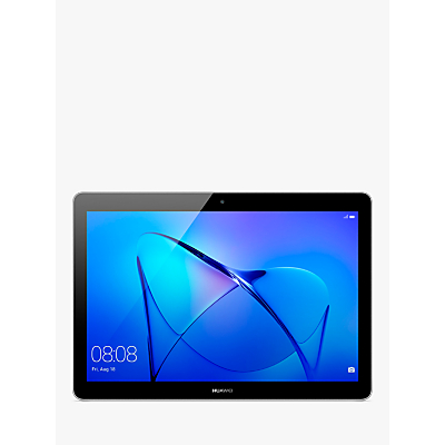"Image of Huawei MediaPad T3 10 Tablet, Android, Qualcomm MSM8917, 2GB RAM, 32GB eMMC, 9.6"", Grey"